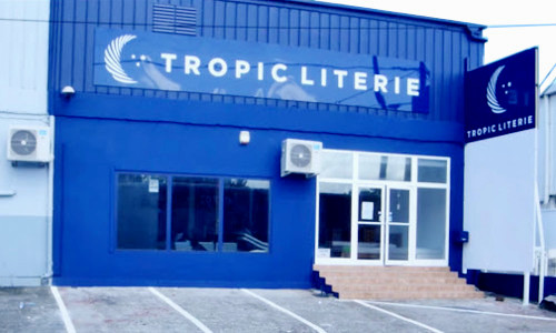 devanture Tropic-literie-martinique