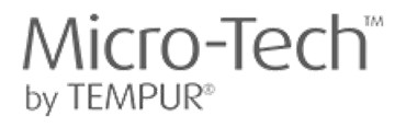 logo micro-tech by tempur